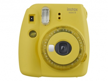Fujifilm Instax Mini 9 sárga (Clear Yellow) kamera