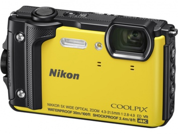 Nikon Coolpix W300 sárga Holiday Kit