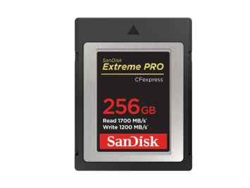Sandisk 256GB CFExpress Extreme Pro Type B 1700 mb/s