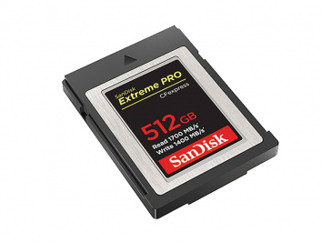 Sandisk 512GB CFExpress Extreme Pro Type B 1700 MB/S