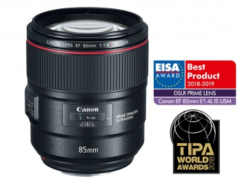 Canon EF 85mm f/1.4L IS USM objektív