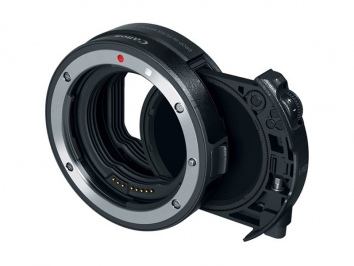 Canon EF-EOS R Drop In Filter Mount Adapter + V.ND