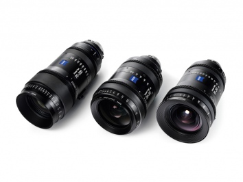 Zeiss Cine Zoom set (15-30, 28-80, 70-200)