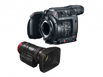 Canon Cinema EOS C200 + CN-E 18-80mm EMEA