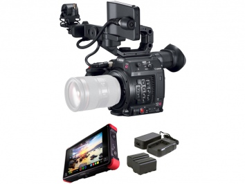 Canon Cinema EOS C200 Atomos Ninja V Power Kit